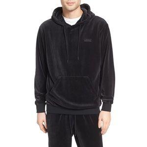 Adidas Originals Men's Velour Hoodie